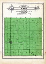 Township 26 Range 12, Chambers, Holt County 1915